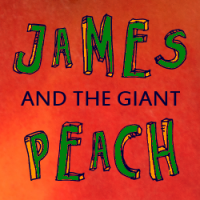 Logo for James and the Giant Peach